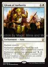 Dragons of Tarkir ~ GLEAM OF AUTHORITY rare Magic the Gathering card