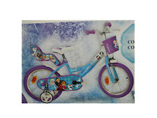 BIKE 14 DISNEY FROZEN SNOWFLAKE GIRL COASTER BRAKE DINO BIKES