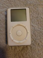 Apple iPod 10GB A1019 Untested For parts or Repair