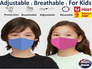 For Kids Face Mask Children Masks Ultra Light Thin Breathable Washable Reusable