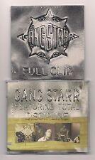 GANG STARR - Lot of 2 CD's SEALED Discipline & Full clip 1999 - Import