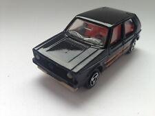 MAJORETTE VW VOLKSWAGEN GOLF 1 NOIR 1/60 FRANCE