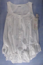 Vintage Willow Creek Cotton Blend Nightie Size Small in a Blue Floral Print