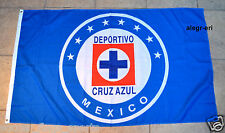 Cruz Azul Flag Banner 3x5 ft Mexico Soccer Bandera