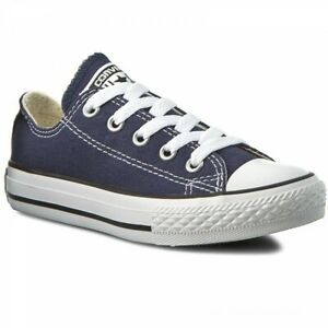 Converse All Star Ox Navy 3J237 Low Top Grade School Youth Size 2