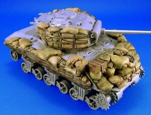 1/35 Resin Sherman M4A3 Sandbag Armor set Unpainted Unassembled QJ152