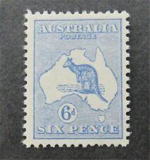 nystamps British Australia Stamp # 8 Mint Og H $140 U4y1468
