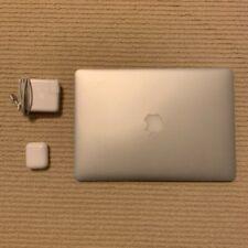 Apple MacBook Air 13.3 inch Laptop - MJVE2LL/A (2015, Silver) bundle w/ AirPods