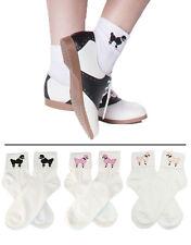 Hip Hop 50s Shop Adult Bobby Socks Vintage Poodle Skirt Dance Costume Accessory