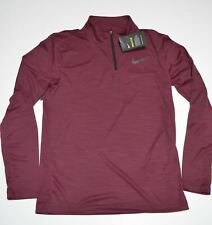 Nike Breathe Standard Fit Quarter Zip Top Ar3716-681 New size small