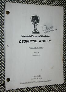 DIXIE CARTER used Designing Women, Rehearsal TV Script : Tales Out Of School