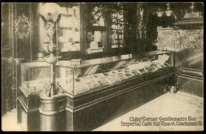 CIGAR CORNER BAR, IMPERIAL CAFE, CINCINNATI POSTCARD
