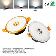 LED Recessed Ceiling Light  Panel Downlight Lamp Warm/Cool/Neutral light White