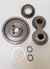 289 302 351w V8 Ford High Performance Noisy Gear Drive Kit SB SBF HP Dual Idler