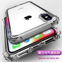 Shockproof TPU Silicone Protective Case Cover For iPhone XS MAX XR XS 8 6 7 Plus