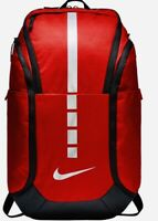 Nike Hoops Elite Pro Basketball Backpack Fuel Pocket Padded Durable New Tags Red