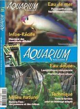 AQUARIUM MAGAZINE N°192 TECHN. : ECLAIRAGE / MAINTENIR INVERTEBRES DIFFICILES