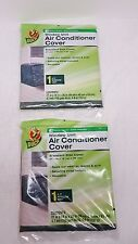 """Lot of 2 Duck Window Unit Air Conditioner Covers 27""""X18'X25"""",NIP"""