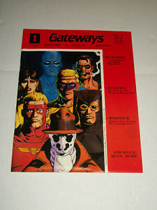 GPI GATEWAYS #4 Watchmen Elfquest Robotech RPG Magazine