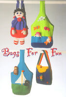 Mermaid Fish Owl Cat Boat Doll Rainbow Ladybird Rucksack/Bag DK Knitting Pattern