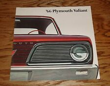 Original 1966 Plymouth Valiant Sales Brochure 66