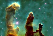 LARGE PILLARS OF CREATION NEBULA SPACE INSPIRATIONAL NASA PHOTO PRINT POSTER