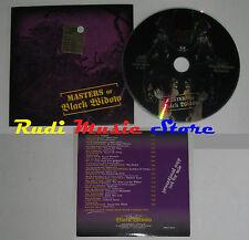CD masters of BLACK WIDOW PROMOZIONALE BWRCD the black high tide(Xs7*) no mc lp