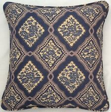 A 16 Inch Cushion Cover In Laura Ashley Vintage Blue Pattern Fabric