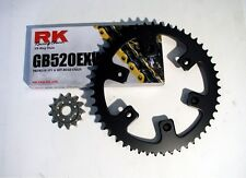 RK Gold Chain and JT Sprocket Kit Honda CRF 450X 2005-2016