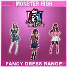 Nuevo Pequeño Monster High Frankie, Clawdeen, Draculaura Fancy Dress Costume