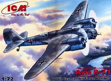 Avia B-71 WW II Eje Bomber (búlgaro & Luftwaffe MKGS) 1/72 ICM (Tupolev SB-2)