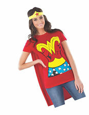Rubie's Official Ladies Wonder Woman T-Shirt Set Adult Costume - X-Large