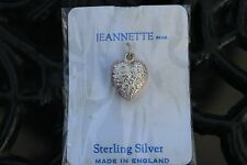 sterling silver lucky charm Heart