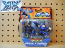 DC Action League Brave and the Bold OWLMAN & BLUE BOWMAN Injustice Syndicate PK