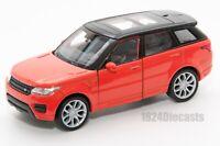 Range Rover Sport orange, Welly 43698F, scale 1:34-39, model toy car gift