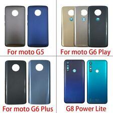 Rear Battery Back Cover For Motorola Moto G5 G6 E6 Play E7 Plus G8 Power Lite