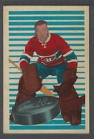 1963-64 Parkhurst Montreal Canadiens Hockey Card #98 Gump Worsley