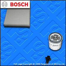 SERVICE KIT for FORD FOCUS MK3 1.5 ECOBOOST BOSCH OIL CABIN FILTERS (2014-2018)