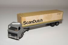 1:60 PLAYART SCANIA 141 SCAN DUTCH CONTAINER TRUCK TRAILER EXCELLENT CONDITION