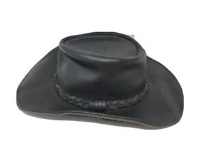 Henschel Leather Walker Hat Made in USA Coyote Peterson Raging Bull Cowhide