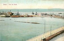 Africa, Eqypt, Suez, Vue Du Dock Early Postcard