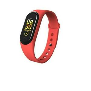 LANON Heart Rate Measure Fitness Blood Pressure Smart Band Watch Multi-color