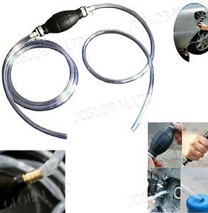 Hand Siphon Pump Water Tank Fuel Oil Liquid Transfer Pipe Hose Pump Syphon Pump