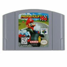 Mario Kart 64 Video Game Cartridge Console Card US Version For Nintendo N64
