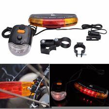 Bike Bicycle Tail Turn Brake Signal LED Turning Indicator Horn Light Lamp Bell