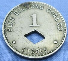 Blue Diamond Coal Co. Store 1 Cent Orco Trade Token