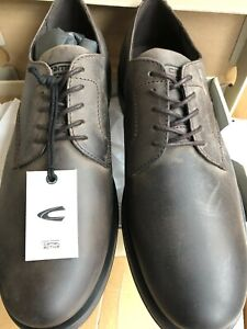 Mont Camel ACTIVE SIZE 44 - 9.5/10 UK LEATHER Shoe Boxed New Dark Brown RRP£87
