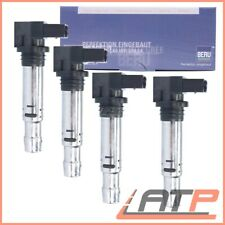 4x BERU IGNITION COIL VW BEETLE 5C BORA 1J EOS GOLF PLUS 5M LUPO 6X 6E 1.4 1.6