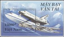Vietnam 1996 SPECIMEN/Planes/Aircraft/Space Shuttle/Transport 1v m/s (s2270b)