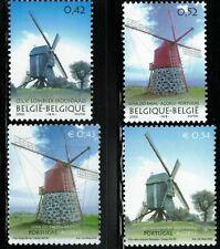 Belgien+Portugal**Windmühlen-4 Mkn-2002-Flandern & Azores-WINDMILLS-Windmolens